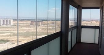 Cerramiento de terraza en Zaragoza